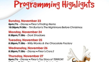 abc familys countdown to the 25 days of christmas 2014 - Abc 25 Days Of Christmas Schedule 2014